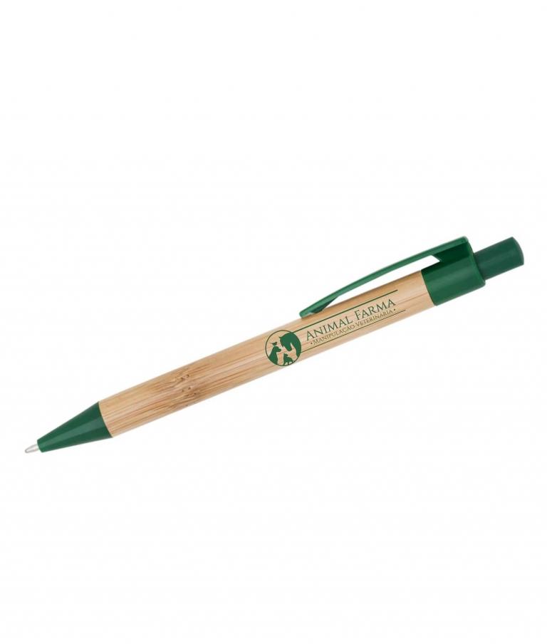 Caneta ecológica em bambu